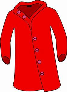 Clipart - Red Overcoat