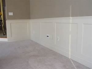 Recessed Panel Wainscoting Traditional New York By