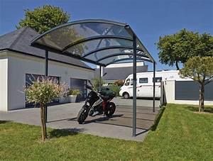 Carport Avec Abri : abri et carport en aluminium pour voiture camping car moto sib ~ Melissatoandfro.com Idées de Décoration