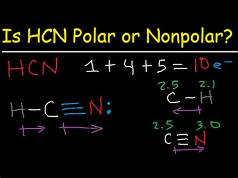 Hcn Polar Or Nonpolar Drone Fest