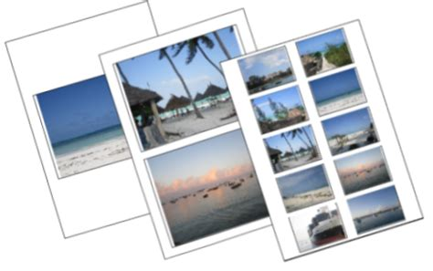 how to print multiple photos on one sheet of paper