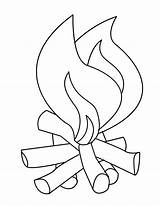 Coloring Flames Fire Pages Printable Flame Clipart Line Drawing Safety Campfire Camp Number Outline Template 1229 Colouring Getdrawings Clip Library sketch template