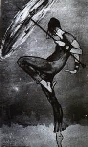 David Alfaro Siqueiros Dance of the Rain