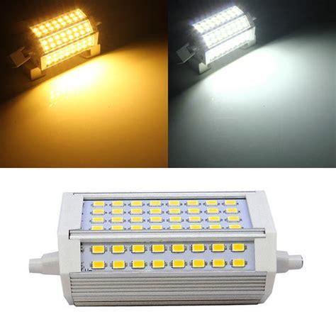 r7s led 118mm 30w r7s 30w 3000lm 118mm 64 smd5730 warm white white led light bulb 85 265v sale banggood