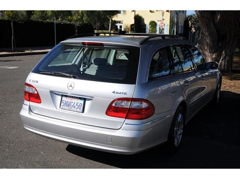 Does anyone know when the 2004 e320 wagon is supposed to hit the shores of north america? 2004 Mercedes-Benz E320 Wagon 4matic for Sale   ClassicCars.com   CC-1167869
