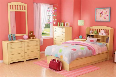 South Shore Popular Natural Maple Kids Bedroom Collection
