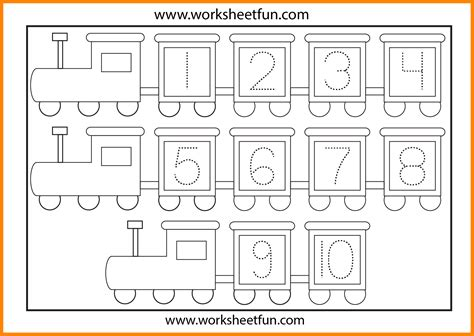 5 number tracing worksheets ars eloquentiae