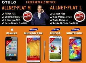 Otelo Internet Flat : otelo allnet flat 19 99 euro und smartphone ab 1 euro ~ Yasmunasinghe.com Haus und Dekorationen