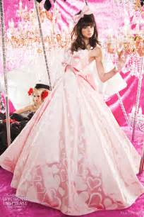 pink wedding dresses peachy pink wedding dresses wedding inspirasi