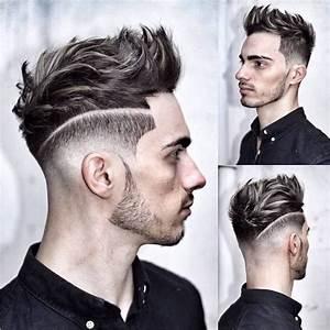 Coupe Homme Cheveux Gris : coiffure homme meche grise ~ Melissatoandfro.com Idées de Décoration