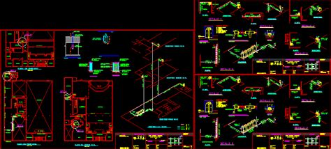 final gas dwg full project  autocad designs cad