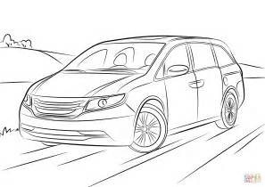 honda odyssey coloring page free printable coloring pages With 2009 honda cr v