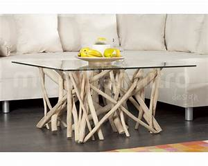 Table Basse En Bois Flotté : awesome table basse bois flotte gallery ~ Preciouscoupons.com Idées de Décoration