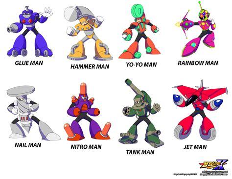 Mega Man 10 Mega Man 10 Characters