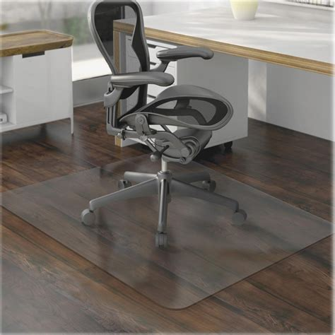 office chair floor mat desk computer plastic heavy