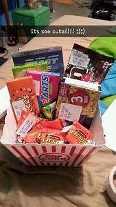 Boyfriend Christmas Gift Idea A Gift Basket Full Of