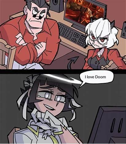 Doom Helltaker Meme Anime Memes Everyone Funny