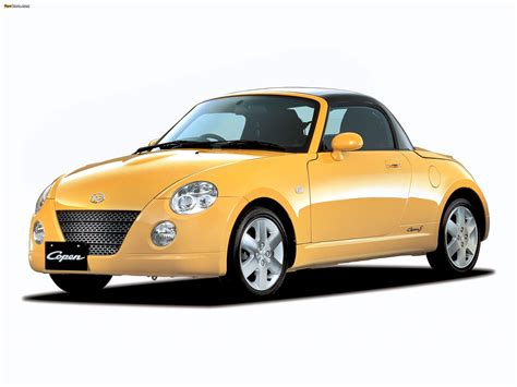 Daihatsu Copen Hd Picture by 2006 Daihatsu Copen Pictures Information And Specs