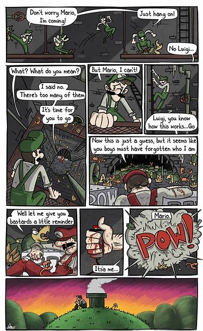 Mario Luigi Sad Comic Super Adventure Camp