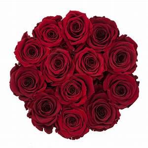 Ewige Rosen Box : rote ewige rosen in schwarzer runden blumenbox ewige rosen rosen produkte online ~ Eleganceandgraceweddings.com Haus und Dekorationen