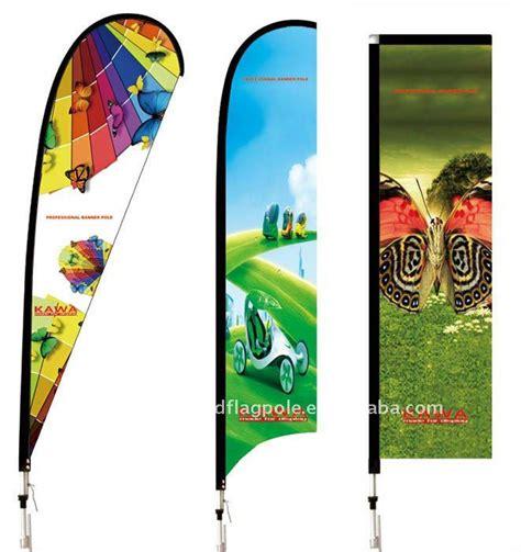 outdoor custom beach flag pole feather banner pole flag pole beach flag pole different bases are