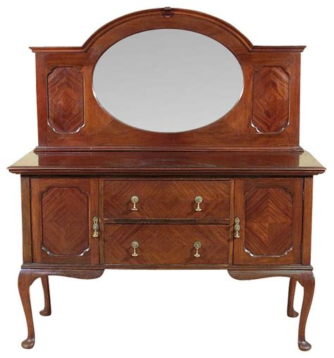Antique Mahogany Sideboard Buffet by Antique Mahogany Sideboard Buffet Server