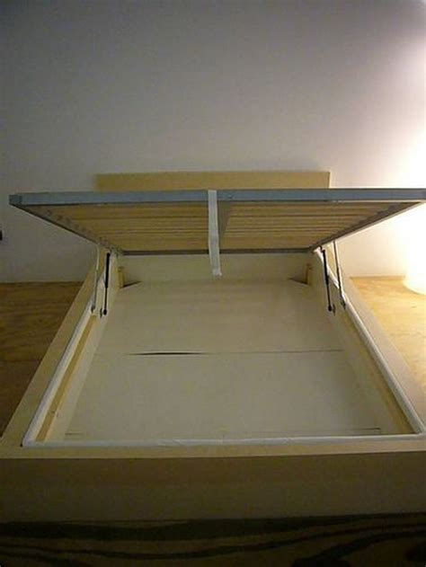 diy lift top storage bed  projectsatobn