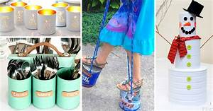 45 Ideas About Upcycling Tin Cans And Turning them Into an
