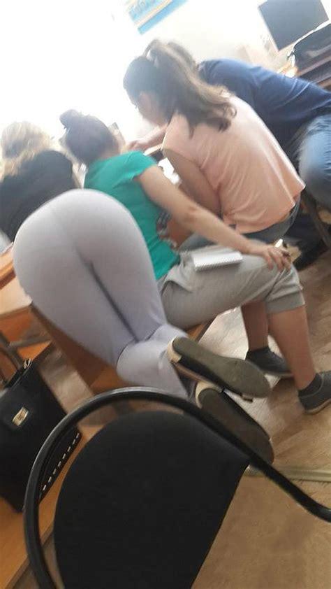 teacher candid classroom booty