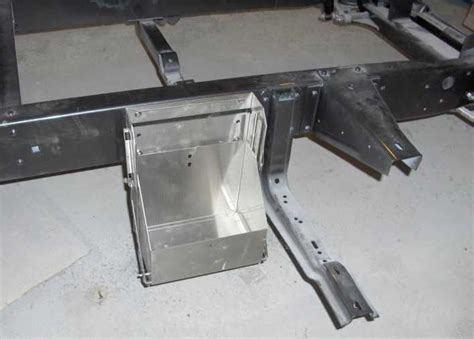 ford   battery box drop  hinged size
