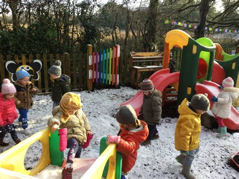 Embracing Outdoor Play in Cold Weather | The Spinney Day ...