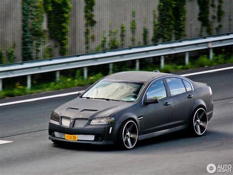 Pontiac G8, 2008-2009