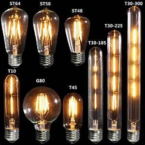 Lampe Ampoule Filament : ampoule filament e27 vintage 220v lumix ~ Teatrodelosmanantiales.com Idées de Décoration