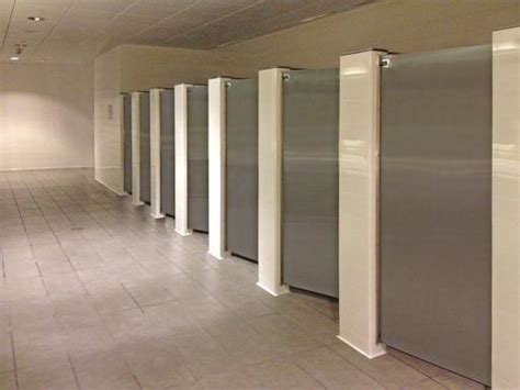 bathroom stall floor braced toilet partitions