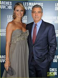 Full Sized Photo of george clooney stacy keibler paris 05 ...