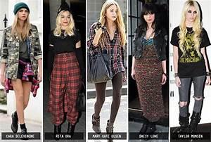 Grunge Fashion 1990s Women | www.pixshark.com - Images ...
