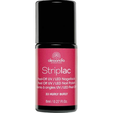 led l nail polish striplac peel off uv led nail polish hurly burly 33