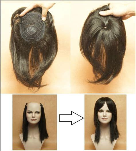 hair pieces  black  thin hair  top hair pieces