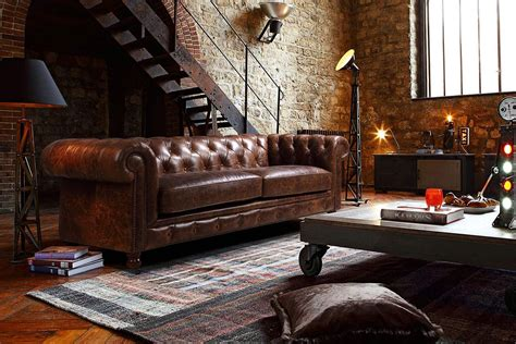 canapé loft the kensington chesterfield tufted sofa and