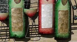 Décoration Murale Fer Forgé : d coration murale en fer forg boissons et bouteilles le vin et la vigne wall art d co ~ Teatrodelosmanantiales.com Idées de Décoration