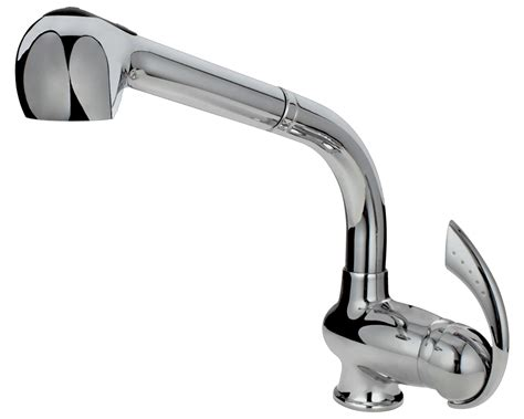 713-c Chrome Single Handle Pull Out Kitchen Faucet