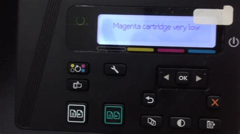 fix printer hp color laserjet pro mfp mn