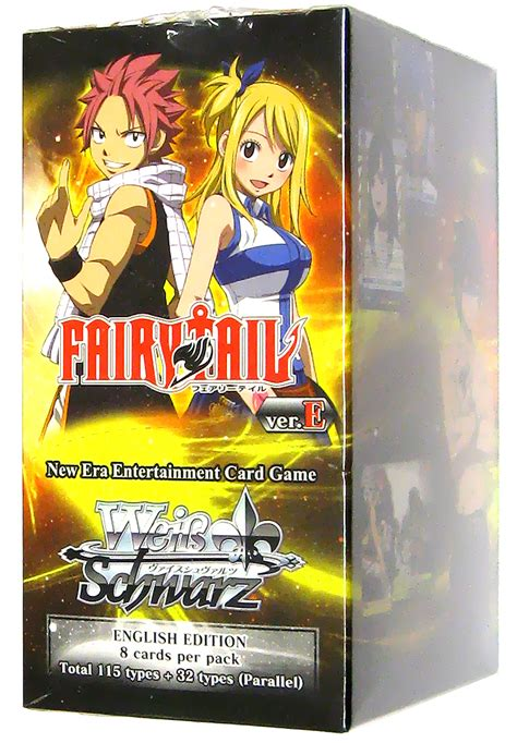 Weiss Schwarz Fairy Tail Booster Box  Weiss Schwarz