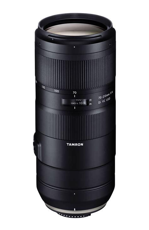tamron announce 70 210mm f 4 lens ephotozine