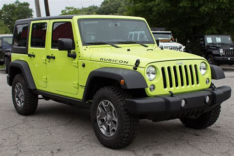 jeep unlimited green hypergreen jku part 1 go4x4it a rubitrux blog