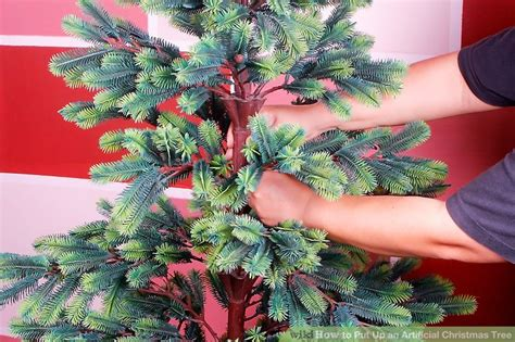how to fix a leaning christmas tree how to put up an artificial tree 11 steps