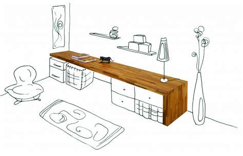 Am Ager Bureau De Travail Bureau Flip Design Bois