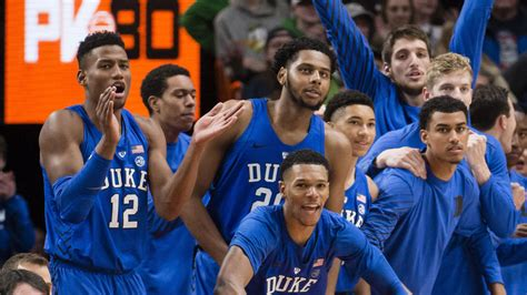 college basketball rankings duke remains unanimous