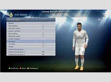 Cristiano Ronaldo Nuevos Stats PES 2015 Real Madrid