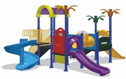 Playground Clipart Kindergarten Equipment Clip Park Cliparts